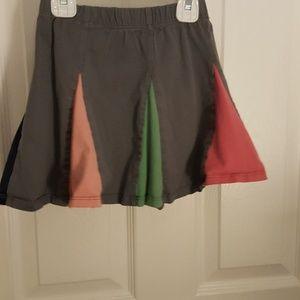 Hanna Andersson cotton skirt